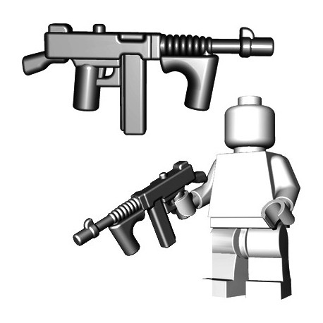 BrickWarriors - Gangster SMG (Steel)
