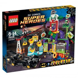 Lego - 76035 Jokerland (Batman, Joker, Batmobile)