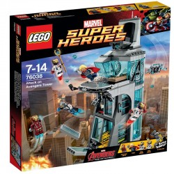 Lego - 76038 Attack on Avengers Tower