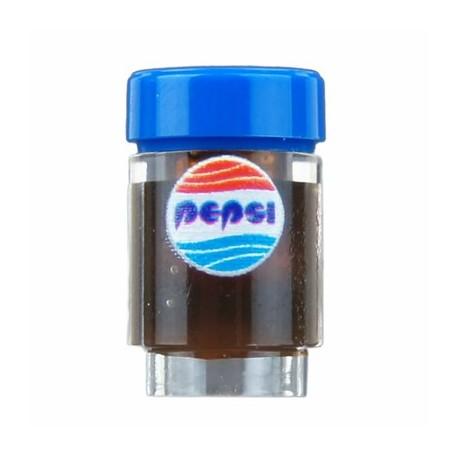 Lego Minifigure Custom Bricks - Canette de Soda, Pepsi (Future Cola)