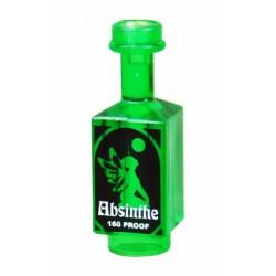 Custom Bricks - Absinthe Drink Bottle