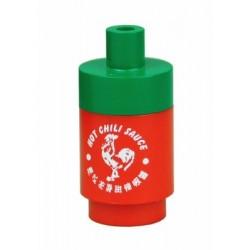 Custom Bricks - Hot Sauce Bottle