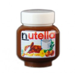 Lego Minifig Custom Bricks - Pot de Nutella