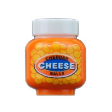 Lego Minifig Custom Bricks - Pot de Cheesball Puffs