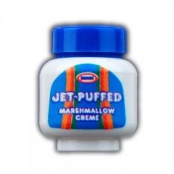 Custom Bricks - Food Jar - Marshmallow Fluff