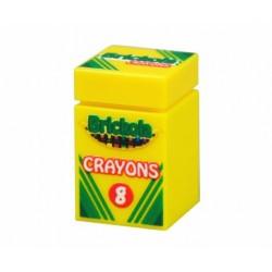 Lego Minifig Accessoires Custom Bricks - Boite de 8 Crayons