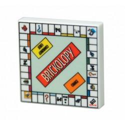 lego Minifig Custom Bricks - Jeu de Brickopoly