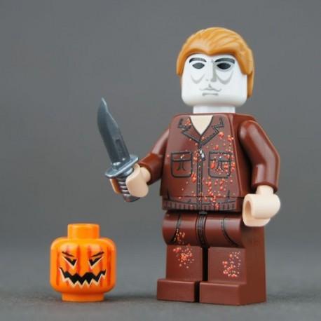 Custom Bricks - Minifig Michael Myers (Halloween)