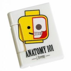 Lego Minifig Custom Bricks - Anatomy 101 Book (Jason Freeny)