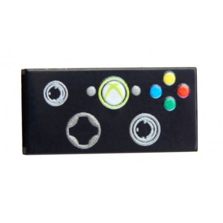 Lego Minifig Custom Bricks - Manette de jeu / Joystick XBrick