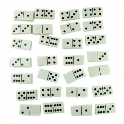 "Custom Bricks - ""Double 6"" Micro Dominoes"