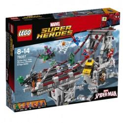 Lego - 76057 Spider-Man: Web Warriors Ultimate Bridge Battle