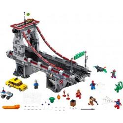 Lego - 76057 Spider-Man : Le combat suprême sur le pont des Web Warriors