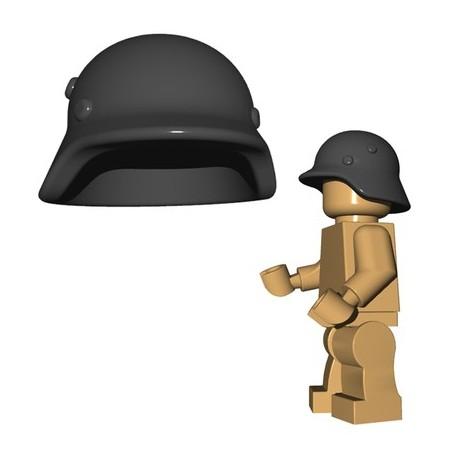 LEGO CUSTOM BrickWarriors - Stahlhelm (Dark Bluish Gray)