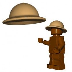 Brick Warriors - Brodie Helmet (Dark Tan)