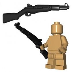 Lego Accessoires Minifigures - BrickWarriors - US Rifle (Noir)