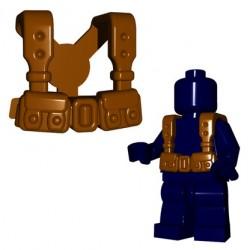 BrickWarriors - French Suspenders (Brown)