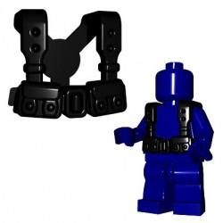 BrickWarriors - French Suspenders (Black)