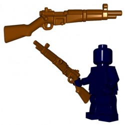 Lego Accessoires Minifigures - BrickWarriors - French Rifle (Marron)