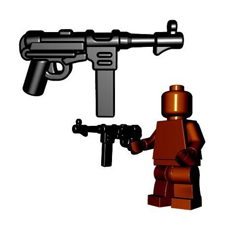 BrickWarriors - German SMG (Black)