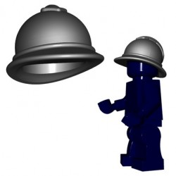 Lego Accessoires Minifigures - BrickWarriors - Casque Adrian M 1915 (Steel)