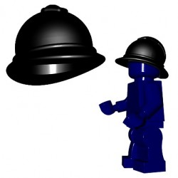 Lego Accessoires Minifigures - BrickWarriors - Casque Adrian M 1915 (Noir)