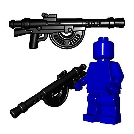 Lego Accessoires Minifigures - BrickWarriors - French LMG (Noir)
