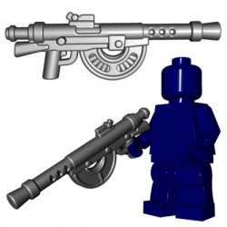 Lego Accessoires Minifigures - BrickWarriors - French LMG (Steel)