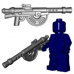 Lego Accessoires Minifigures - BrickWarriors - French LMG (Steel)