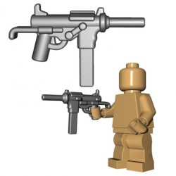 Lego Accessoires Minifigures - BrickWarriors - Grease Gun (Steel)