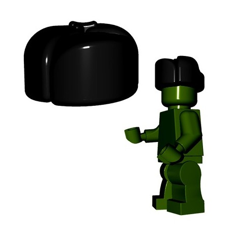 Lego Minifigures BrickWarriors - Ushanka (Noir)