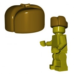 Lego Minifigures BrickWarriors - Ushanka (Beige foncé)