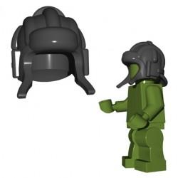 Brick Warriors - Soviet Tanker Helmet (Dark Bluish Gray)