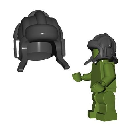 Lego Minifigures BrickWarriors - Casque Soviet Tanker (Dark Bluish Gray)