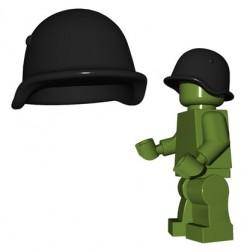 Lego Minifigures BrickWarriors - Casque Soviet (Dark Bluish Gray)
