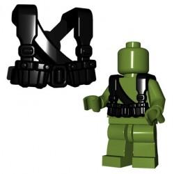 Lego Minifigures BrickWarriors - Soviet Suspenders (Noir)