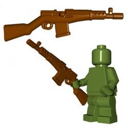 Lego Minifigures BrickWarriors - Soviet Rifle (Marron)