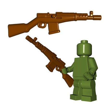 Lego Minifigures BrickWarriors - Soviet Rifle (Marron)
