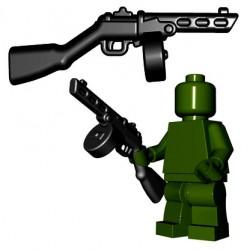 Lego Minifigures BrickWarriors - Soviet SMG (Noir)