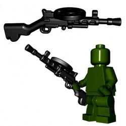 Lego Minifigures BrickWarriors - Soviet LMG (Noir)