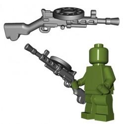 Lego Minifigures BrickWarriors - Soviet LMG (Steel)