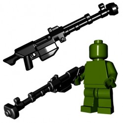 BrickWarriors - Anti Tank Rifle (Black)