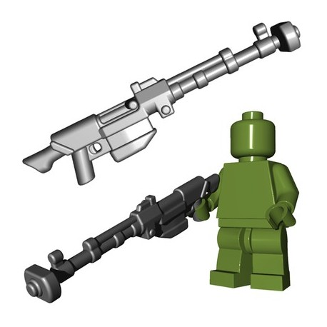 Lego Minifigures BrickWarriors - Anti Tank Rifle (Steel)