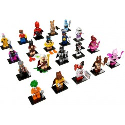 LEGO BATMAN Movie Series - 20 minifigures - 71017
