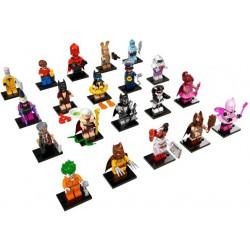 LEGO Série BATMAN MOVIE - 20 minifigures - 71017 Minifig