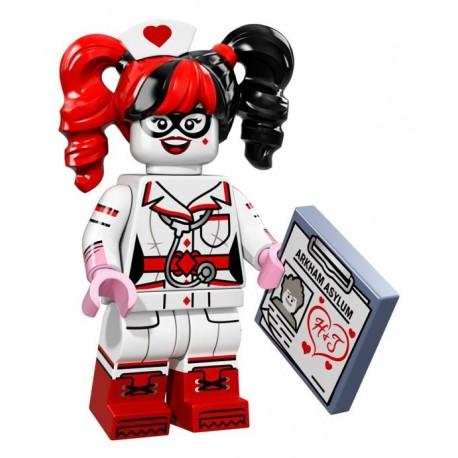 LEGO Minifig - L'infirmière Harley Quinn 71017 Batman