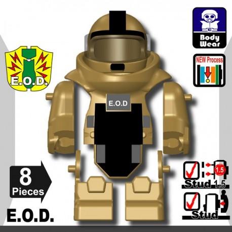 Lego Minifig Si-Dan Toys - E.O.D TS70 (Beige foncé)