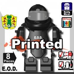Lego Minifigure Si-Dan Toys - E.O.D TS70 (Noir)