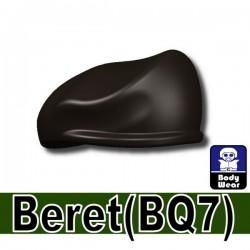 Lego Minifigure Si-Dan Toys - Beret (Pearl Dark Black)