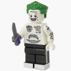 Lego Custom Minifig Co. - Minifigure Suicide Squad Joker